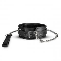 Cooper Collar With Leash - Black