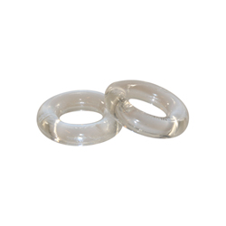 ZiZi Top Cock Ring - Transparent