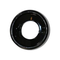 Rubberen Cockring - Zwart