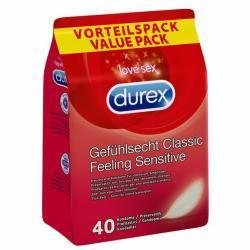 Durex Feeling Sensitive Voordeelpak - 40 Stuks