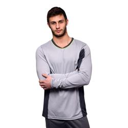 Shirt met lange mouwen - Grijs