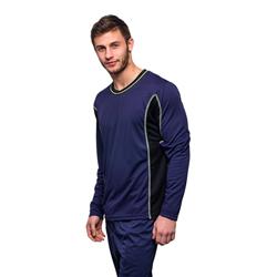 Shirt met lange mouwen - Blauw