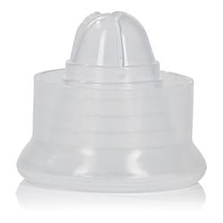 Hülle für Penispumpe aus Silikon in Weiß