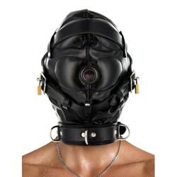 Strict Leather Sensory Deprivation Hood
