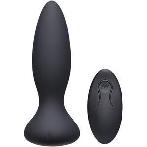 Thrust Adventurous Stotende Buttplug - Zwart