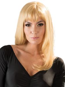Sexy blonde pruik