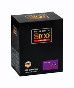 Sico Color Condooms - 100 Stuks