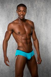 Doreanse Heren Boxer - Turquoise