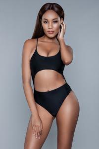 Alina Monokini - Zwart