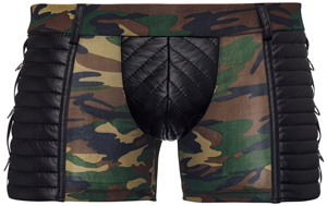 Camouflage Boxer Met Wetlook