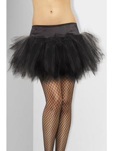 Zwarte petticoat met volume