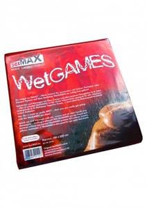SexMAX WetGAMES Laklaken 180 x 220 cm - Rood
