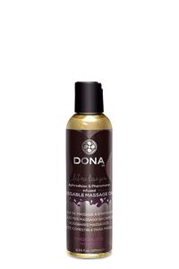 Massage olie met choco geur