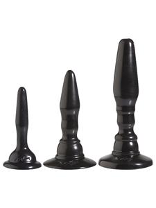 Driedelige anaal kit