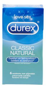 Durex Classic Natural 6 stuks