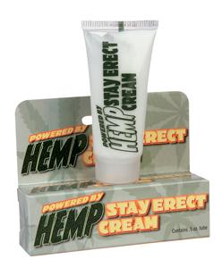 Hemp Stay Erect Crème