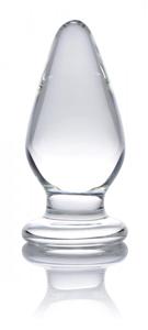 Ember Zware Glazen Buttplug