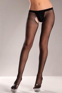 Basic Panty Met Open Kruis