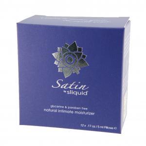 Sliquid Satin Lube Cube - Vagina Lotion 12 x 5 ml