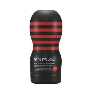 Tenga - Original Vacuüm Cup Strong - Zwart/ Rood