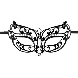Sierlijk zwart oogmasker