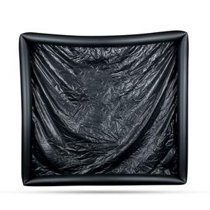 Laklaken Met Opblaasbare Randen - Zwart