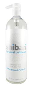 Shibari Glijmiddel Waterbasis Met Pomp - 950 ML