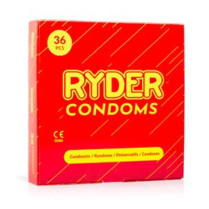 Ryder Condooms - 36 Stuks