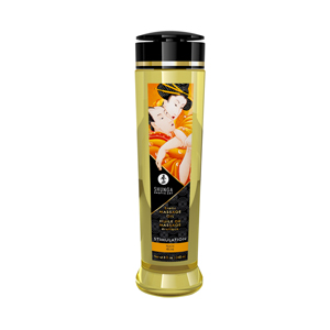 Shunga - Stimulation Massage Olie Peach - 240 ml