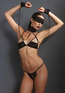 Soft bondage lingerie set