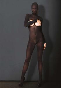 Kinky bedekkende catsuit