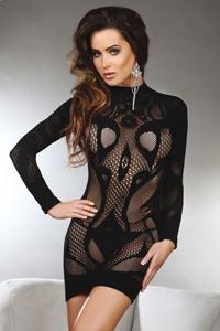 Sexy zwart jurkje Elianna