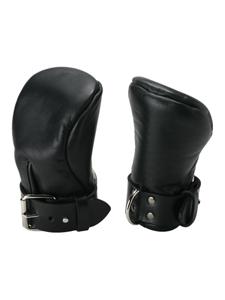 Deluxe Gewatteerde Bondagehandschoenen
