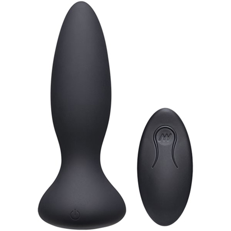 Thrust Adventurous Stotende Buttplug - Zwart