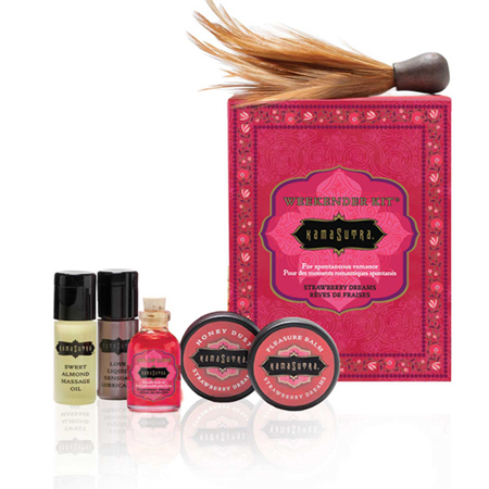 Kamasutra Weekender Kit Strawberry