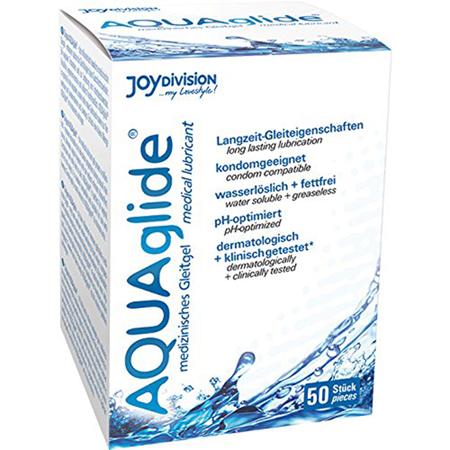AQUAglide wasserbasiertes Gleitmittel - 50 Beutel