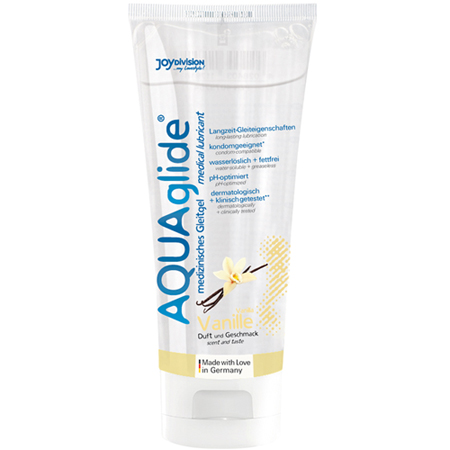 AQUAglide Vanille-Gleitmittel - 100 ml