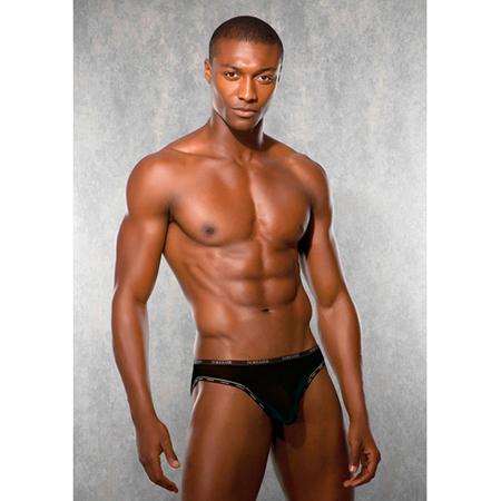 Unterhose Kontrast Schwarz