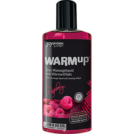 WARMup Himbeer Massageöl - 150 ml
