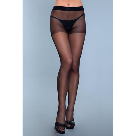 Everyday Wear Kruisloze Panty - Zwart