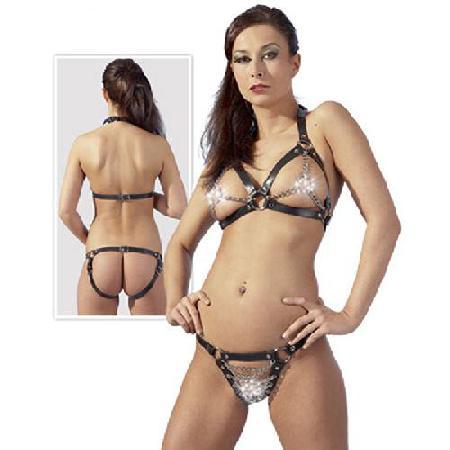 Leren Bikini - One Size