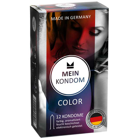 Mein Kondom Color - 12 Kondome