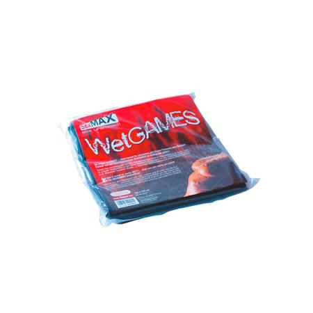 SexMAX WetGAMES Laklaken 180 x 220 cm - Zwart