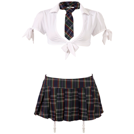 Schoolmeisjes Uniform