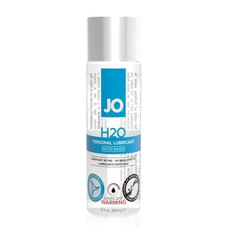 System JO H2O Gleitmittel – Warming 60ml