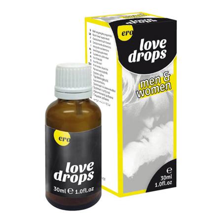 Liefdes druppels voor man en vrouw