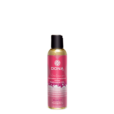 Dona - Scented Massage Olie Flirty Blushing Berry