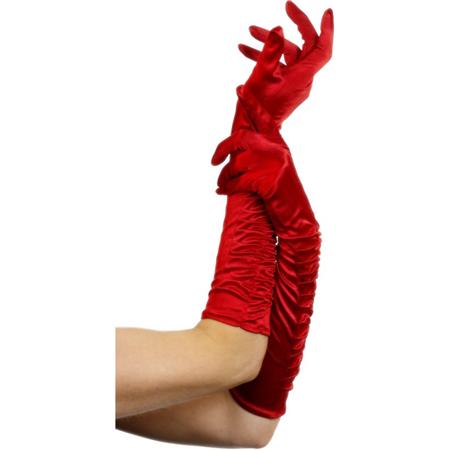 Rote Handschuhe von Fever