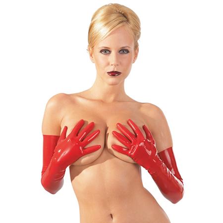 Latex Handschoenen - Rood