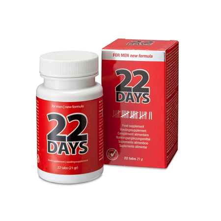 Erectiepillen - 22 Days